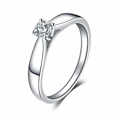 Miglior anello di fidanzamento super economico - Jewelry Palace 0.2 ct