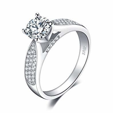 Miglior anello di fidanzamento super economico - Jewelry Palace 1.2 ct