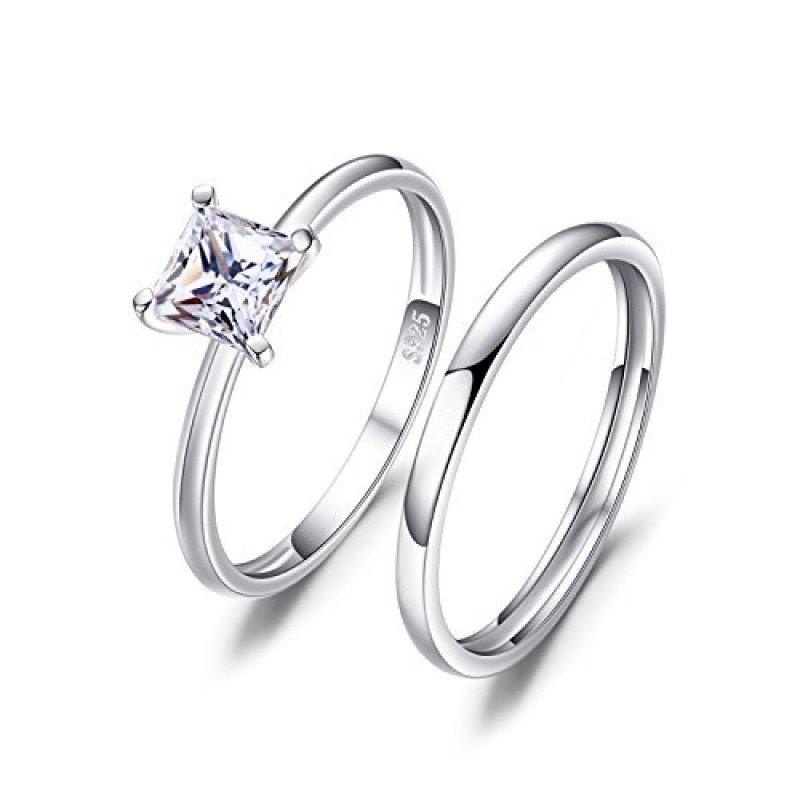 Miglior anello di fidanzamento super economico - Jewelry Palace Principessa Taglio 0.6 ct