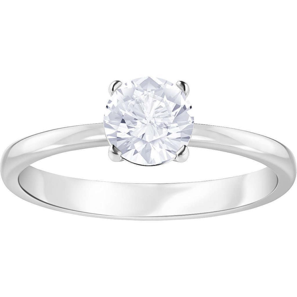 Miglior anello di fidanzamento fascia media - Swarovski Attract Round