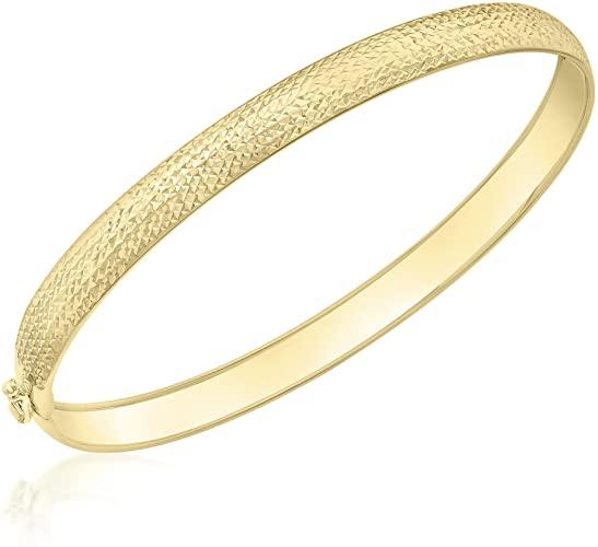 Carissima Gold Braccialetto Flessibile da Donna in Pino Tagliato a Diamante,