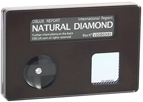 Dblux Diamanti Naturali Certificati con Dedica Personalizzabile