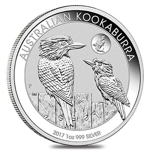 Perth Minth Australia Kookaburra 2017 1 OZ (31,15 gr.) Silver Coin Moneta Perth Mint