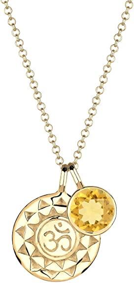 Elli Accessori Donna argento 925 Quarzo citrino palla