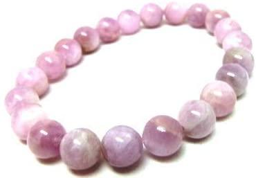 Natural AAA Rosa Kunzite Tratto Braccialetto | 7-7.5? Lunghezza del Braccialetto Bracciale Gemstone | Bracciale Unisex | Perline Figura Rotonda 6mm | Uomini Braccialetto di Perline