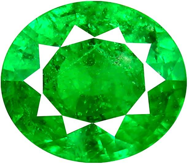 2.30 carati taglio ovale (8 x 7 mm) Tanzaniane Unheated Tsavorite verde granato naturale gemma sciolto