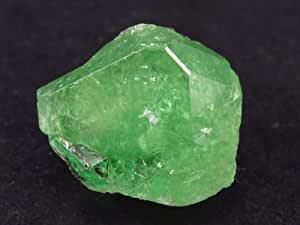 Cristallo di granato verde di Tsavorite, 43 carati, 2,2 cm
