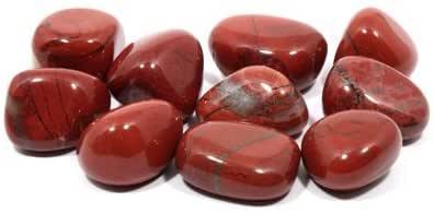 Crystalage - Pietra rossa (20-25 mm), confezione da 10