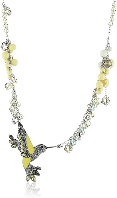 Swarovski 1084567 - Collana da donna, palladio