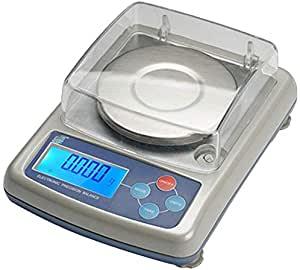 Caratura Diamanti Bilancia Alimenti Digital Bilande di precisione Anaytical Electronic Balance di precisione Bilance per Gioielli di precisione Cucina Scala di pesatura di precisione 0.001G calibrata e pronta LQHZWYC