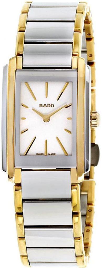 Rado R20212103 - Orologio da donna con cinturino in acciaio al quarzo, quadrante bianco