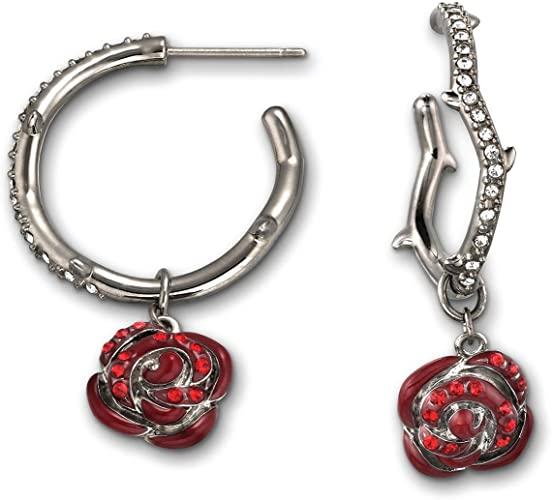 Swarovski donna-orecchini Thorn & Rose in rutenio 1126555
