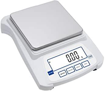 Caratura Diamanti ZJZ Ultimo Display LCD HD con Bilancia da Laboratorio da 3 kg / 0,1 g per bilance a Diamante per Erbe d'oro (Dimensioni: 3 kg / 0,01 g)